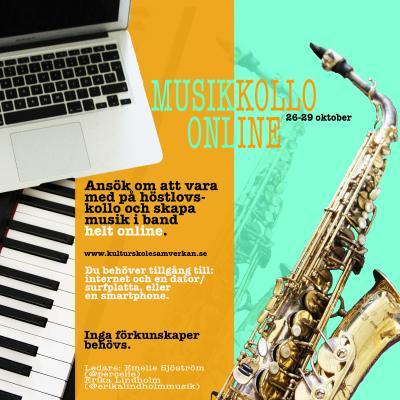 Musikkollo Online Aktiv Ungdom
